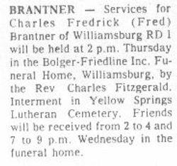 Brantner, Charles - Part 2