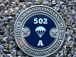 502 Challenge Coin :