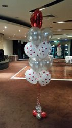 Floorstanding Balloon Bouquet Helium
