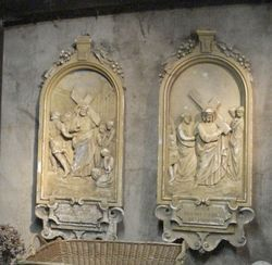 #16/251 2 Religious Church Plaques