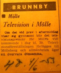 Hotell Molleberg 1953