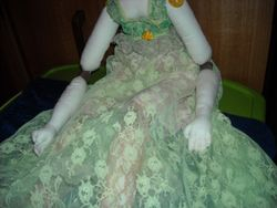 close up of petticoat