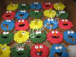 CC29 -Sesame Street Cupcakes