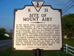 Site of Mount Airy