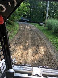 Regrading Gravel Driveway