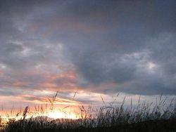 sunset July 09