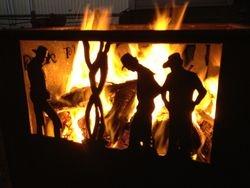 Rustic Fire Box