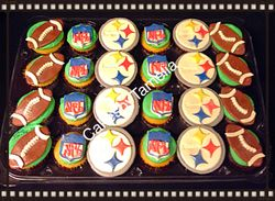 Steelers Cup Cakes