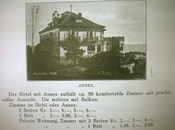 Hotell Storhallen 1927