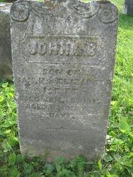 John G. B. Isett (1836-1837)