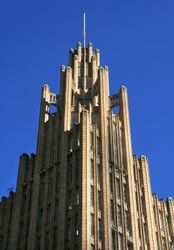 Manchester Unity Building - Detail
