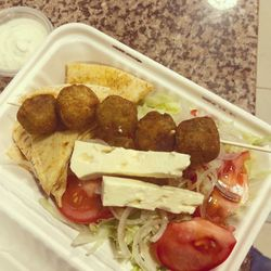 Falafel Unwrapped