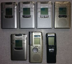 Panasonic digital voice recorders