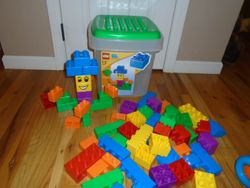 LEGO Quatro Bucket- Quantity of 70 Blocks - $25