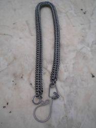 Titanium Roundmaille Wallet Chain