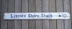 Shore House sign