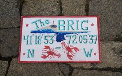 Beach Cottage sign