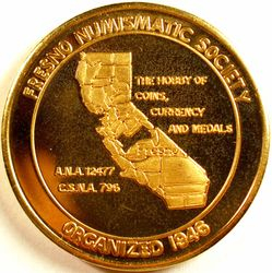 70th Anniversary Bronze, reverse
