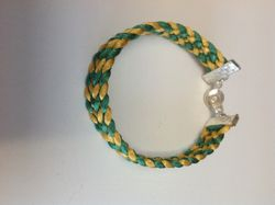 Green & Gold Weave (Item #2168) $10.00