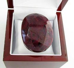 Oval Cut Ruby Gemstone