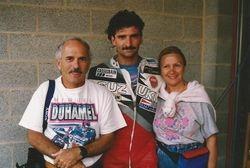 Mario avec ses parents