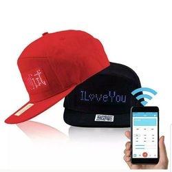 Customizable LED hat