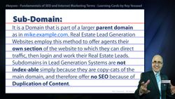 Sub-Domain - Real Estate SEO Short Definition