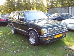 Chevrolet Tio Blazer 4.3 V6 '92