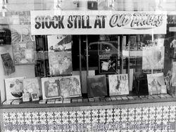 Unnamed Christchurch Record Shop 1975