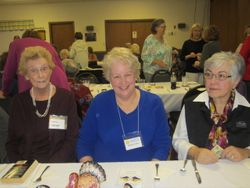 Dorry Dobson, Debbie Colvin, Mary Whiting