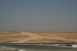 Following are photos of the plains of Beersheba, it looks a long, desolate, dry way to come in under fire!