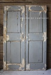 #29/159 GRAY FRENCH DOORS
