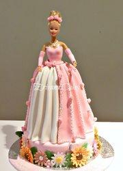 Princess/ Barbie cake