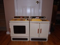 Little Tikes Vintage Kitchen Pieces- 1980's - $50