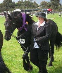 Irma winning Res Champ Geelong Royal 09