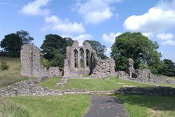 Inch Abbey, Strangford, County Down