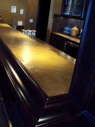 Stone Effects Cement Bar Countertop