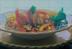 Shrimp Salad with Basil