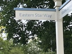 New Street Sign Installed