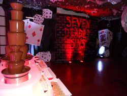 Triple Chocolate Fountain Hire North Yorkshire