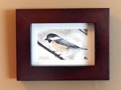 Chickadee, 5x4 SOLD