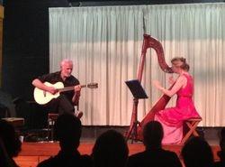 Phil Williams and Sarah Deere-Jones