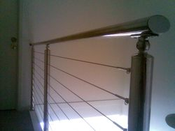 Stainless Steel Rail with Wire