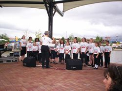 """Performance at the Riverwalk for the """"PPAG Main Event"""""""