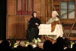 Yente tells Golde about Lazar Wolf