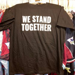 We Stand Together warm up T shirt