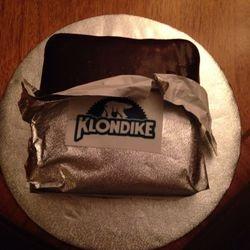 Chocolate Ganache Klondike Bar