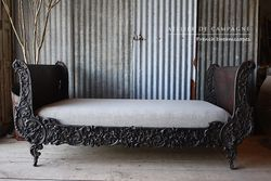 SOLD #26/168 FRENCH SLEIGH BED SOLD