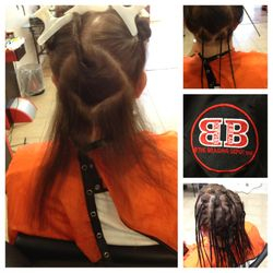 Natural Dreads Started At Braids by Bee