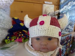 Baby Viking Hat